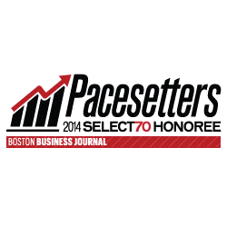 pacesetters 2014 select 70 honoree Boston Business Journal